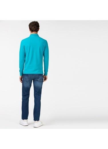 Lacoste Erkek Slim Fit Jean Pantolon HH0011.11D Lacivert